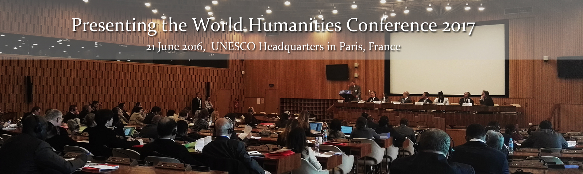 Presenting the World Humanities Conference 2017 http://www.cipsh.net/web/news-146.htm