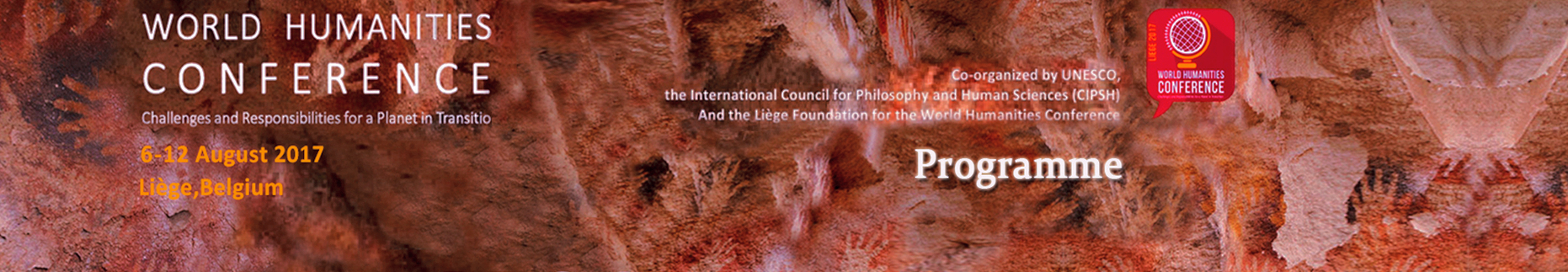 Programme of the World Humanities Conference  http://www.cipsh.net/web/channel-111.htm